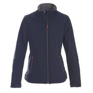Geocaching Softshell jacket dames marine