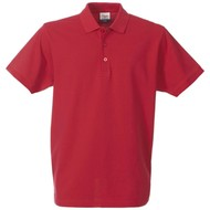 Geocaching Polo heren  rood