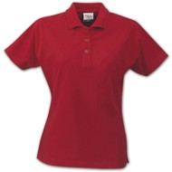 Geocaching Polo dames rood