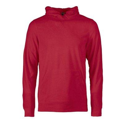 Geocaching Fleece hoodie heren rood