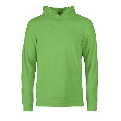 Geocaching Fleece hoodie heren limoen