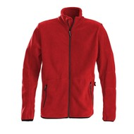 Geocaching Fleece jacket heren rood