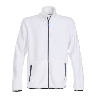 Geocaching Fleece jacket heren wit