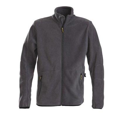 Geocaching Fleece jacket heren staalgrijs