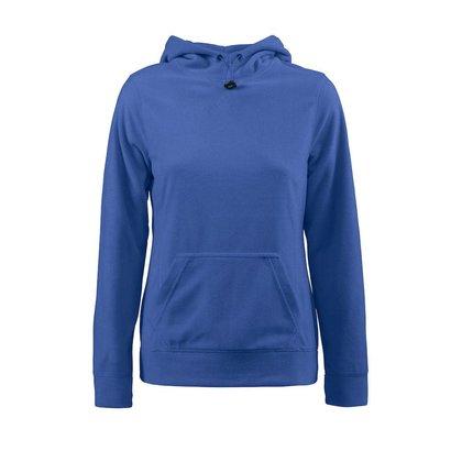 Geocaching Fleece hoodie vrouwen blauw