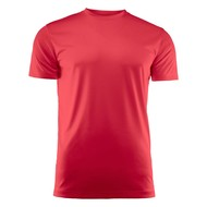 Geocaching T-shirt heren polyester rood