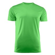 Geocaching T-shirt heren polyester limoen