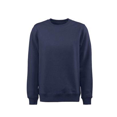 Geocaching Sweater ronde hals heren marine