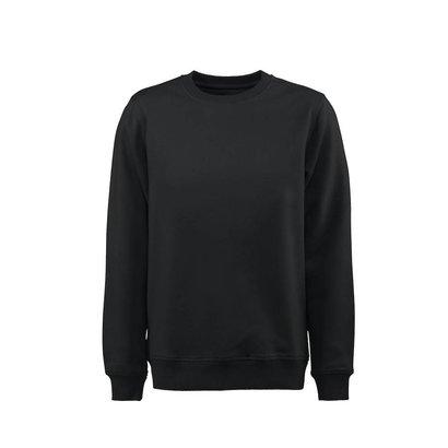 Geocaching Sweater ronde hals heren zwart