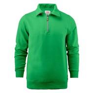 Geocaching Sweater met rits heren frisgroen