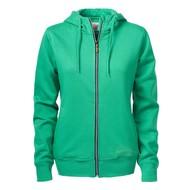 Geocaching Hooded jacket dames frisgroen