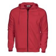 Geocaching Hooded jacket heren rood