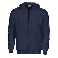 Geocaching Hooded jacket heren marine