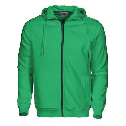 Geocaching Hooded jacket heren frisgroen