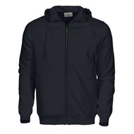 Geocaching Hooded jacket heren zwart