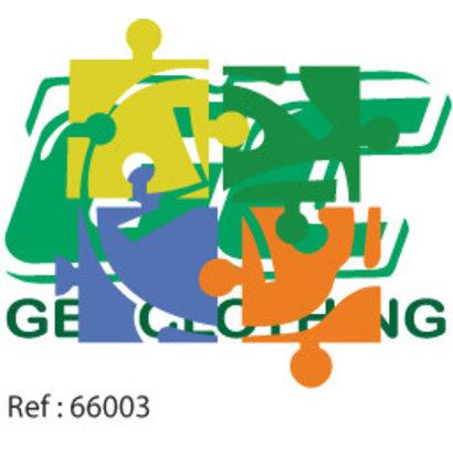 Geocaching puzzelstuk