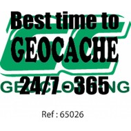 Best time to go geocaching
