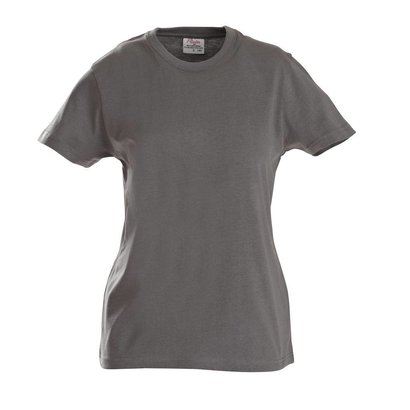 Geocaching t-shirt dames staalgrijs