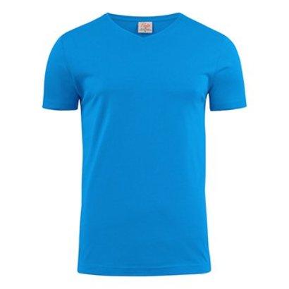 Geocaching v-neck t-shirt heren ocean