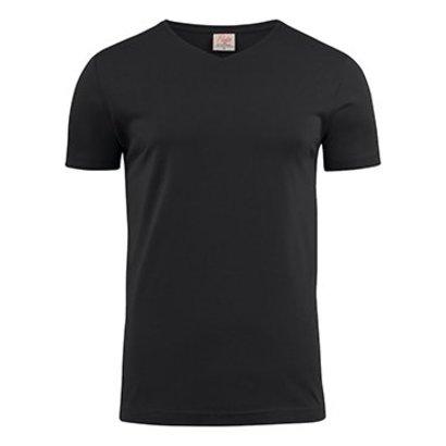 Geocaching v-neck t-shirt heren zwart