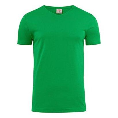 Geocaching v-neck t-shirt heren frisgroen