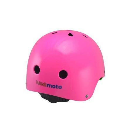 Kiddimoto Kinderhelm Neon Pink Medium