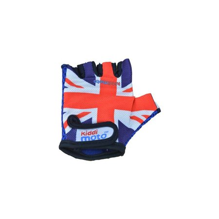 Kiddimoto Kinderfietshandschoen Union Jack Medium