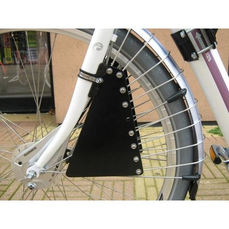 Zadel op Stang Model Nr. 4 voor oversized damesfiets met enkele aluminium stang