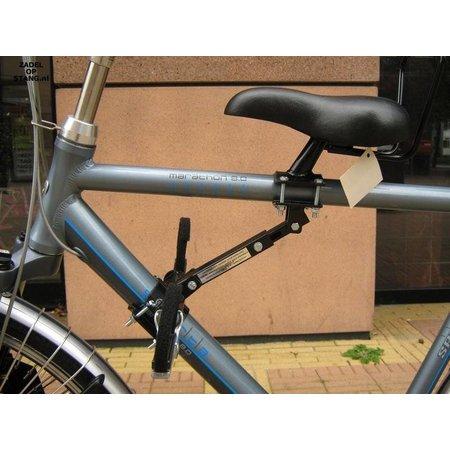 Zadel op Stang Model Nr. 5 voor oversized herenfiets met dikkere aluminium stang