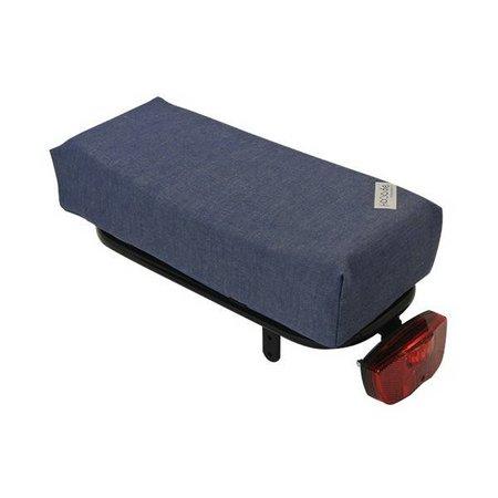 Hooodie Big Cushie Jeans - zacht en stoer fietskussen voor op bagagedrager
