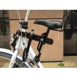 Zadel op Stang - fietszitje op het frame - extra zadel voor op herenfiets én damesfiets!