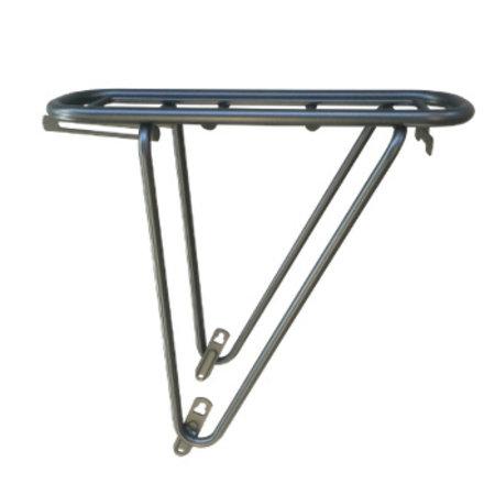 Yepp Rack - complete bagagedrager met Easy Fit window - Zilver