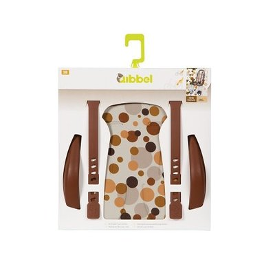 Qibbel Stylingset Luxe Achterzitje Dots Brown