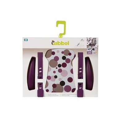 Qibbel Stylingset Luxe Voorzitje Dots Purple