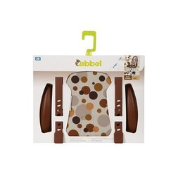 Qibbel Stylingset Luxe Voorzitje Dots Brown