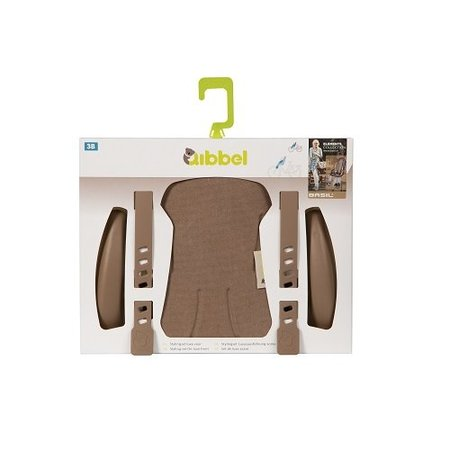 Qibbel Stylingset Luxe Voorzitje Canvas Elements Bruin