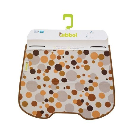 Qibbel Stylingset Luxe Windscherm Dots Brown