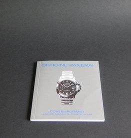 Panerai Luminor Marina Automatic 40mm Booklet