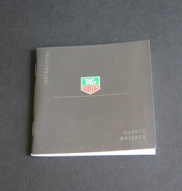 Tag Heuer Instructions Quartz Watches Booklet