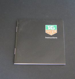 Tag Heuer Instructions Booklet