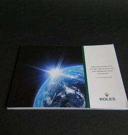 Rolex  Service booklet