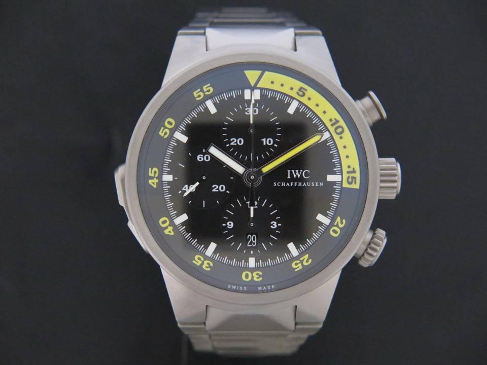 IWC IWC Aquatimer Split Minute Chronograph Titanium IW3723