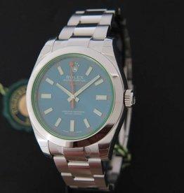 Rolex  Oyster Perpetual Milgauss Blue NEW