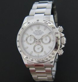 Rolex  Oyster Perpetual Cosmograph Daytona White Dial