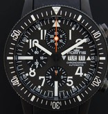 Fortis Fortis B-42 Black Chrono Carbon Dial 638.28.71