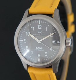 IWC Fliegeruhr Mark XII Saab MELLOW YELLOW Titan