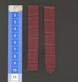 Cartier Crocodile Leather Strap 17 mm