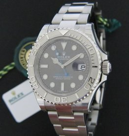 Rolex  Oyster Perpetual Date Yacht-Master Rhodium Dial NEW