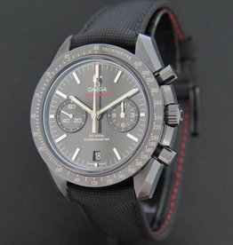 Omega Speedmaster Moonwatch Co-Axial Chronograph Dark Side of the Moon NEW