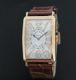 Franck Muller Long Island Relief 18k Rose Gold NEW